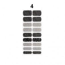 Missha Glam Art Nail Sticker (No4)- nálepky na nehty (M1954)