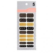 Missha Glam Art Nail Sticker (No5) - nálepky na nehty (M1955)