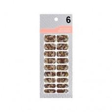 Missha Glam Art Nail Sticker (No6) - nálepky na nehty (M1956)