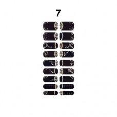 Missha Glam Art Nail Sticker (No7) - nálepky na nehty (M1957)