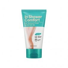 MISSHA In Shower Comfort Hair Removal Cream (for sensitive skin types) - depilační krém na nohy (M5438)