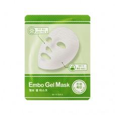 MISSHA Embo Gel Mask (Relaxing Bomb) – Zklidňující Embo gelová pleťová maska (M5227)