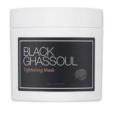 MISSHA Black Ghassoul Tightening Mask - vypínací maska na stažení pórů (M5701)