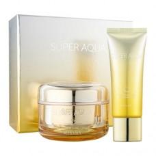 MISSHA Super Aqua Cell Renew Snail Cream Special Set - pleťový krém a noční maska (E1597)
