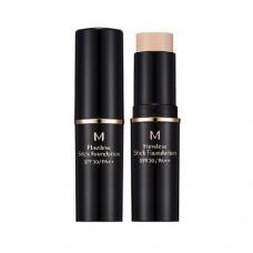 MISSHA M Flawless Stick Foundation SPF30/PA++ (No.21) - vysouvací make-up v tyčince (M2425)