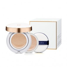 MISSHA M Magic Cushion Moisture Special Set 23+23(R)+Puff – Hydratační cushion make-up (M5944)