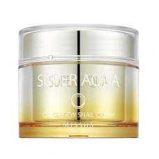 MISSHA Super Aqua Cell Renew Snail Cream - vysoce hydratační krém se šnečím sérem 100ml (E1957)